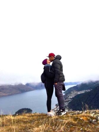 Kiss at Top of Summit